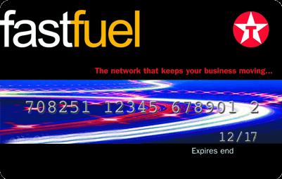 Texaco Fastfuel Card